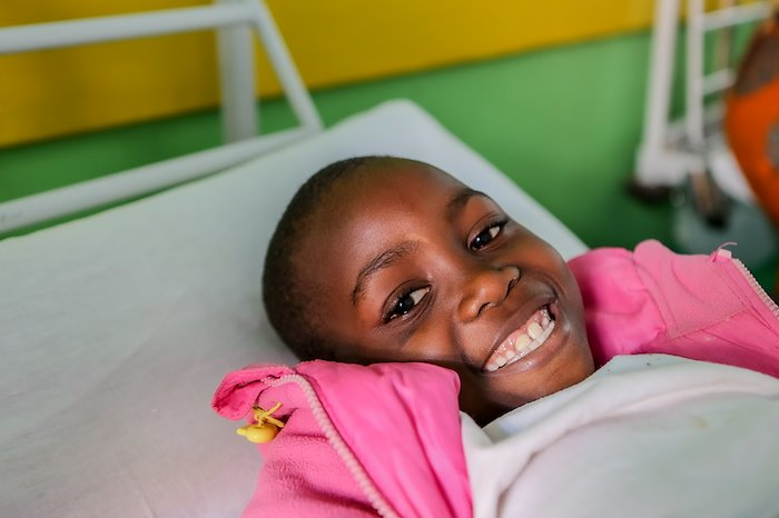 Sherifa is a happy and beautiful kiddo!