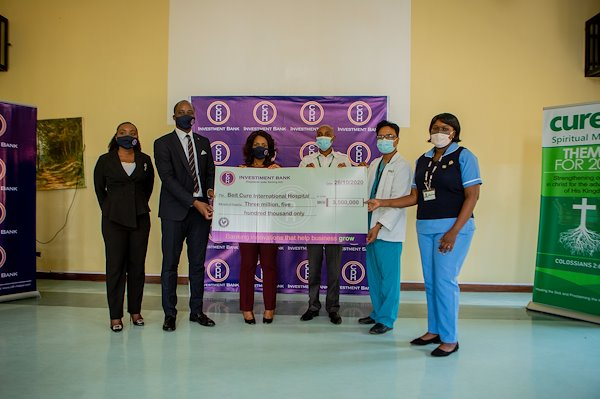 CDH Bank Donation to CURE Malawi.