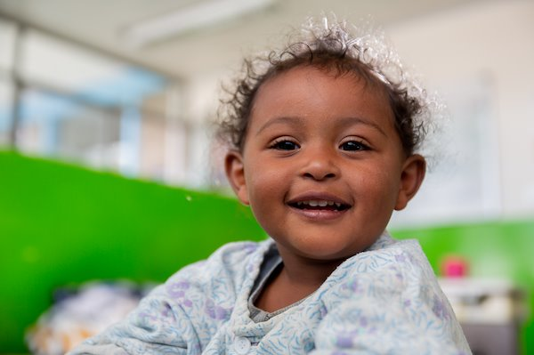 This little cutie is at CURE Ethiopia for hand surgery.