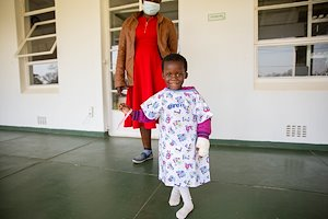 Meet Vimbainashe! She loves the camera and will be coming in for corrective surgery next week.