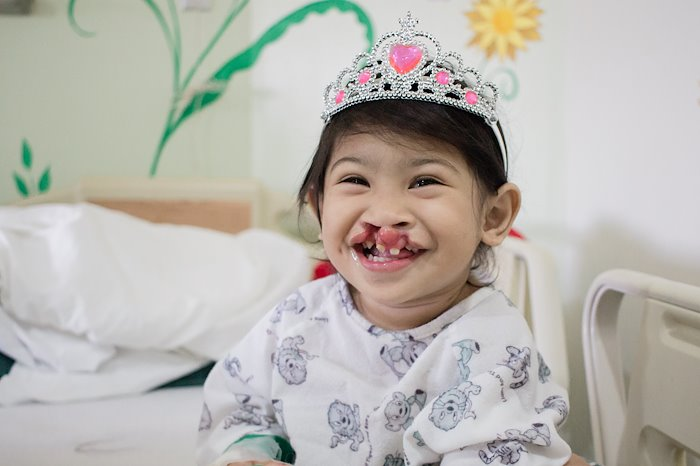 Natasha never forgets to wear two things -- her tiara and her smile!