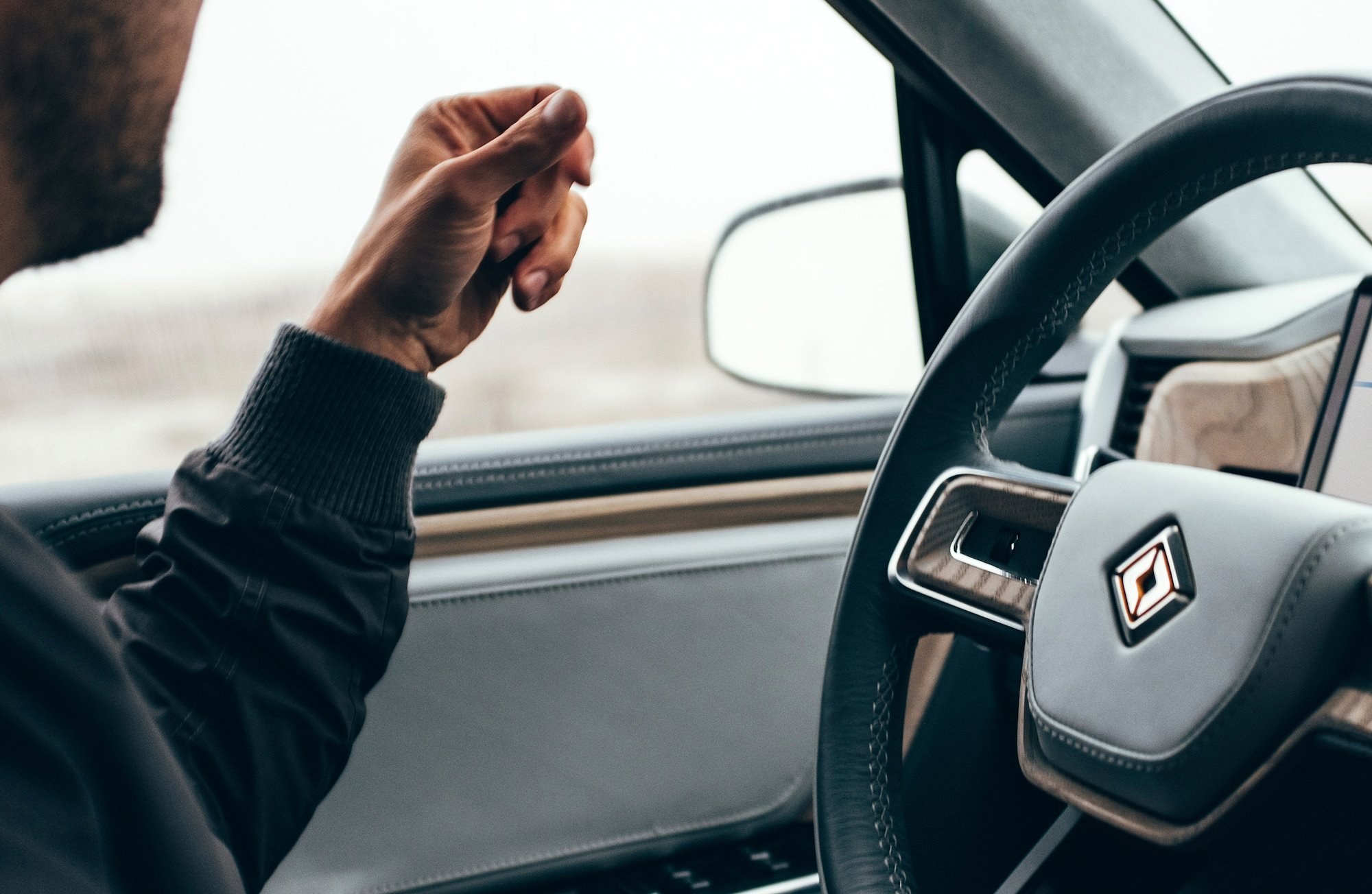 Hands-free driving assistance on every Rivian vehicle at no additional cost.