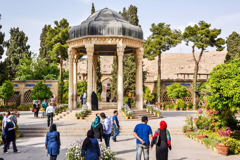 Hafez tomb, Shiraz, Iran