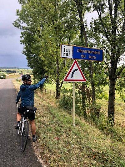 Arrivée dans le Jura. (c) Thomas de Dorlodot