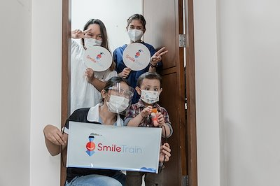 Prince's speech therapy sessions are made possible through our partnership with Smile Train.