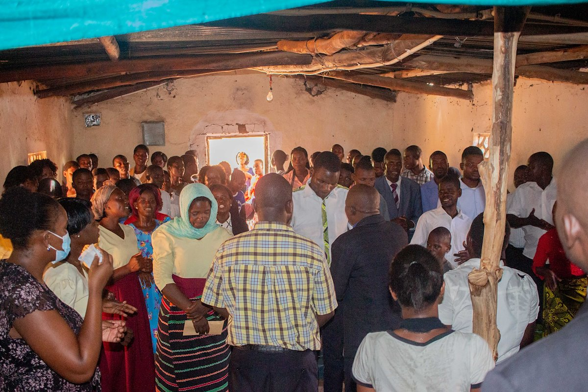 A church visit to encourage the family of God during the pandemic.