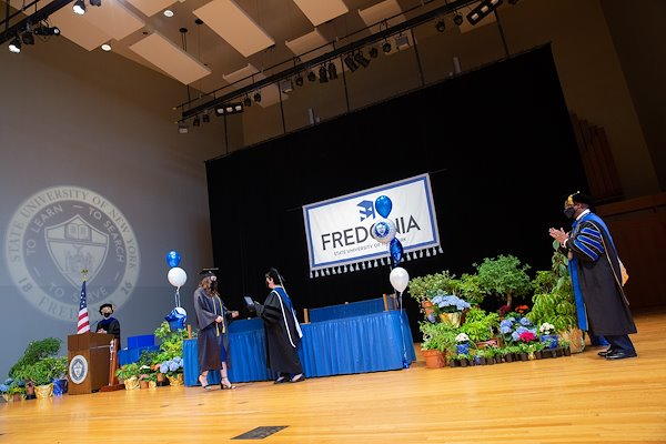 2021 Graduation stage walks